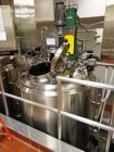 Used- Feldmeier Reactor, 500 Gallon, Stainless Steel. Dish top and bottom. Internal rated 90 psi and Full Vacuum at 350 degr...