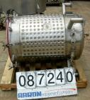 Used- Feldmeier Equipment Reactor, 100 Gallon, 316L Stainless Steel, Vertical. 28
