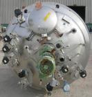 Used- Hermann Waldner Reactor, 3000 Liter (792 Gallons), 316 Stainless Steel, Vertical.  1550 mm (60