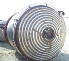 USED: Industrial Copper 3300 gallon reactor. 8' diameter x 8' straight side, 304 stainless steel clad. 304 stainless steel 3...