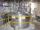 USED: Lee reactor, 1000 gallon, model 1500U, 316L stainless steel, vertical. Approx 60