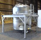 Used- 1057 Gallon Stainless Steel Lee Industries Reactor, Model 4000LU