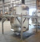 Used- Lee Industries Reactor, 1057 Gallon (4000 Liter), Model 4000LU, 316L Stainless Steel, Vertical.  66