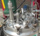 Used- Lee Industries Reactor, 39 gallon (150 liter), model 150LU, 316L stainless steel, vertical. 26