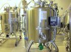 Used-Kells Reactor,400Liter (105Gallon), 316LStainlessSteel.Internal rated3.5 bar (50 psi), 304 stainless steel jack...