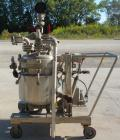 Used- Northland Stainless Reactor, 20 gallon, 316L stainless steel, vertical. 18