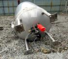 Used- Northland Stainless Reactor, 500 Gallon. Stainless steel construction, approximately 48