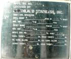 USED: Northland Stainless reactor, 225 gallons, 316 stainless steel, vertical. 36