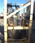 Used- Packo Inox Reactor, 92.4 Gallon (350 Liter), 316 Stainless Steel, Vertical. Approximate 36'' diameter x 60'' straight ...