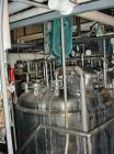 Used-Paul Mueller 500 Gallon, 316L Stainless Steel, Reactor. 52