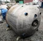 Used- Pfaudler Reactor, 400 Gallon, 316L Stainless Steel. Approximately 48