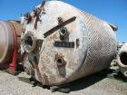 Used- Pfaudler 6000 Gallon 316 Stainless Steel Reactor. Approximately 120