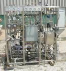 Used- Precision Stainless reactor, 39 gallon (150 liter), 316L stainless steel, vertical. Approximately 20