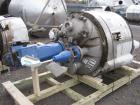 Used- Precision Stainless reactor, 200 gallon, 316L stainless steel construction, 40