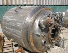 USED: Precision Stainless reactor, 300 gallons, 316L stainless steel, vertical. 45