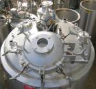 USED: Precision Stainless reactor, 400 gallon, 316L stainless steel, vertical. 48