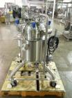 Used- PureFlo Precision Reactor, 70 Liter (18.4 Gallon), 316L Stainless Steel, Vertical. Approximately 18