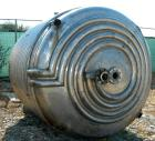 USED: Tolan reactor, 1700 gallon, 316 stainless steel, vertical. 78
