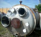 Used- Tolan Reactor, 1350 Gallon, 304 Stainless Steel, Vertical. 66