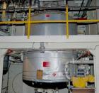 USED: Tolan reactor, 2500 gallon, 304 stainless steel, vertical. 84