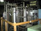 Formulation Skid Including: Two (2) 45 Gallon Walker Reactors Stainless Steel