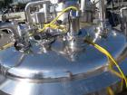 Used- WHE Biosystems Reactor, 1000 Liter (250 Gallon), 316L Stainless Steel Construction. 48