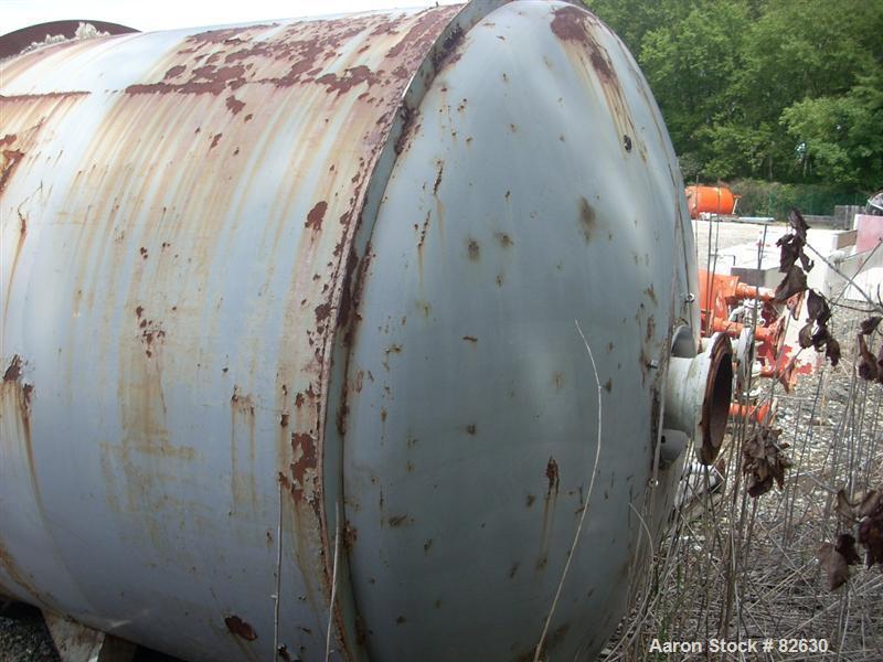 Used- 1238 Gallon Stainless Steel Tolan Reactor