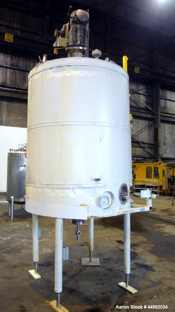 Used- 700 Gallon Stainless Steel Toronto Coppersmithing Reactor