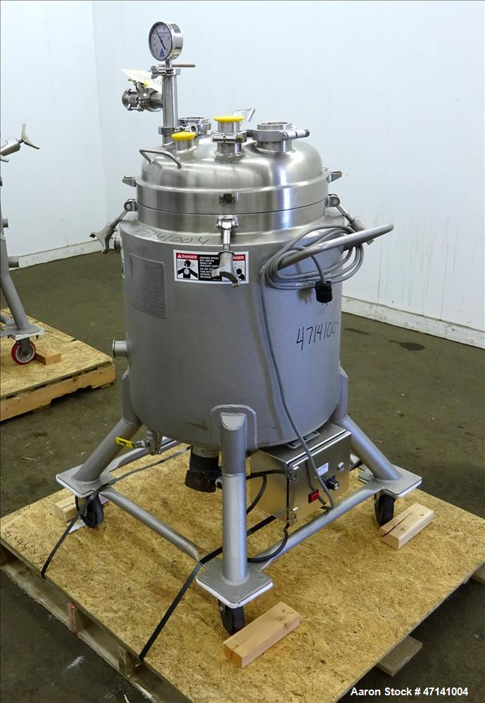 Used- Walker Stainless Reactor, 19.8 Gallon (75 liters), 316L Stainless Steel