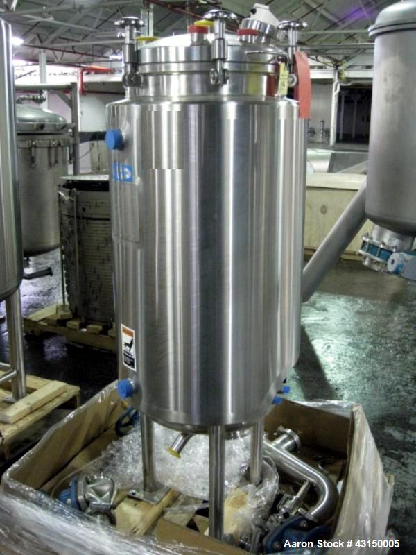 45 Gallon Stainless Steel Construction Walker Stainless Reactor