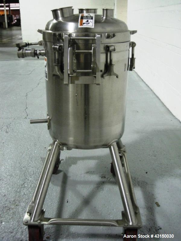 Used- 20 Gallon Stainless Steel Walker Reactor