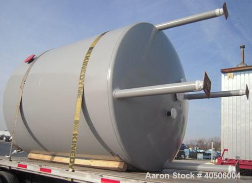 "Unused- Mueller Reactor, 2,500 Gallon, Model ""F"", SA-516 GR 70 carbon steel, vertical. 90'' diameter x 84'' straight side, 2..."
