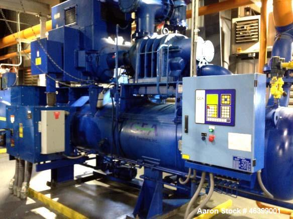 Used- GEA/FES Ammonia Screw Compressor, Model 675GL.