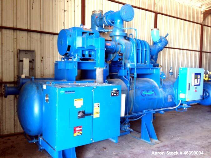 Used- GEA/FES Ammonia Screw Compressor, Model 675GLB