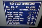 Used- GEA/FES Ammonia Screw Compressor, Model 475GL.