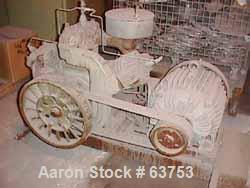 USED: Worthington ammonia compressor. Size 6 x 6 x 4-1/2 x 2-3/4. 25 hp motor, belt driven 230/460 volt, 3/60 (compressor on...