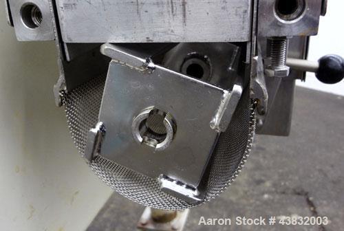 Used- Alexanderwerk WP 50 304 Stainless Steel Roll Compactor System