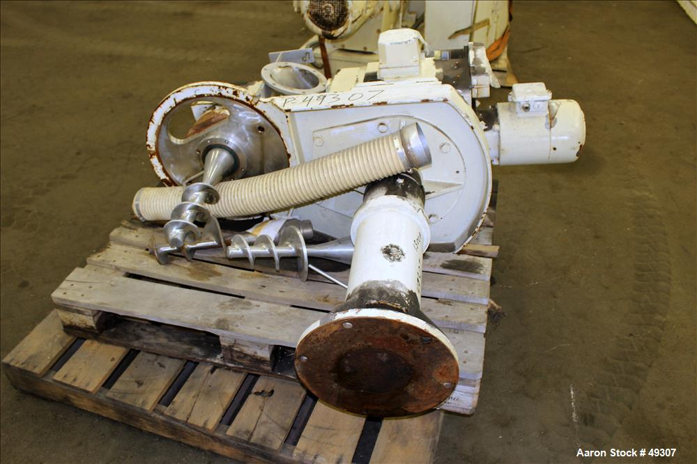 Used- Hutt/Bepex Compactor, Type K200/100
