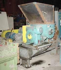"Used- Ferro Tech Compactor/Briquetter, Model WP-30. 3"" wide x 12"" diameter 440 stainless steel rolls. Max roll size 6"" x 12""..."