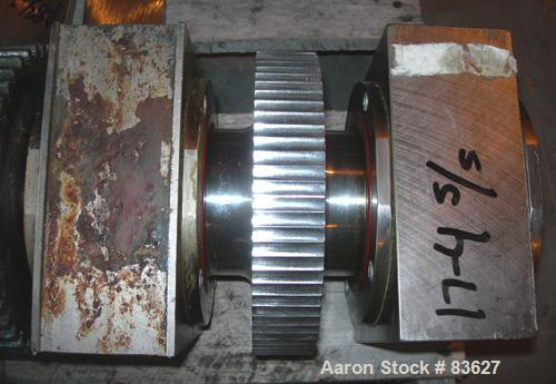 Used- Stainless Steel Fitzpatrick Chilsonator Rolls