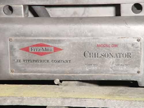 Used- Fitzpatrick Chilsonator, Model DM1.5LX8D