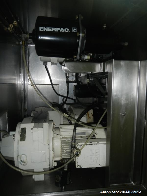 Used- Stainless Steel Fitzpatrick Chilsonator, Model 2.0Lx8D