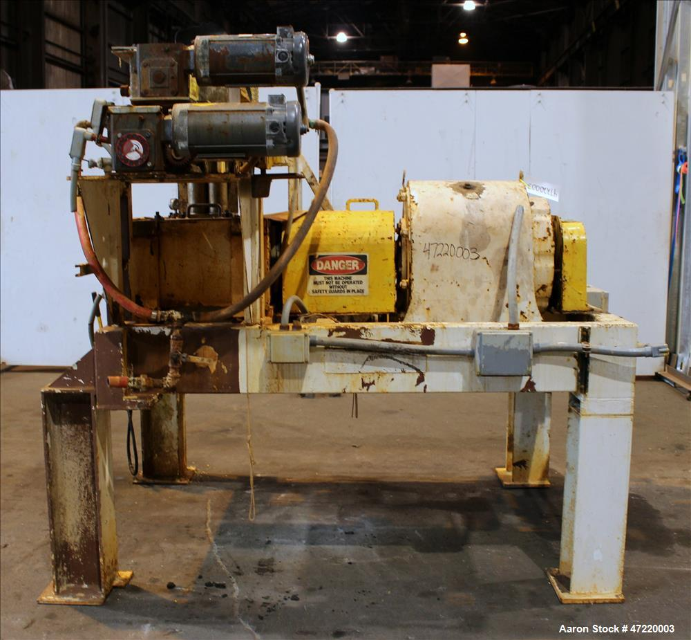 Used- Fitzpatrick Chilsonator/Roll Compactor, Model 7LX10D.