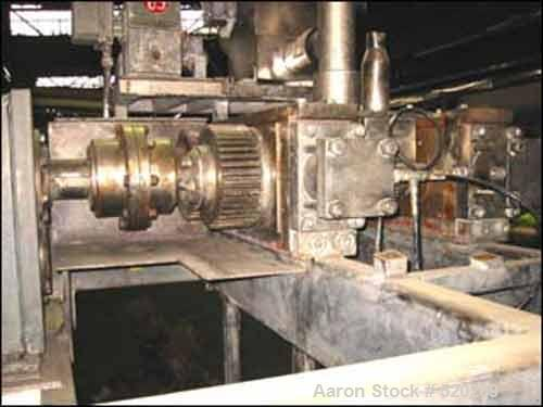 """USED: Fitzpatrick Chilsonator, model DM, code #4LX10D, stainless steelproduct contact surfaces, 10"""" diameter x 4"""" faced groo..."""