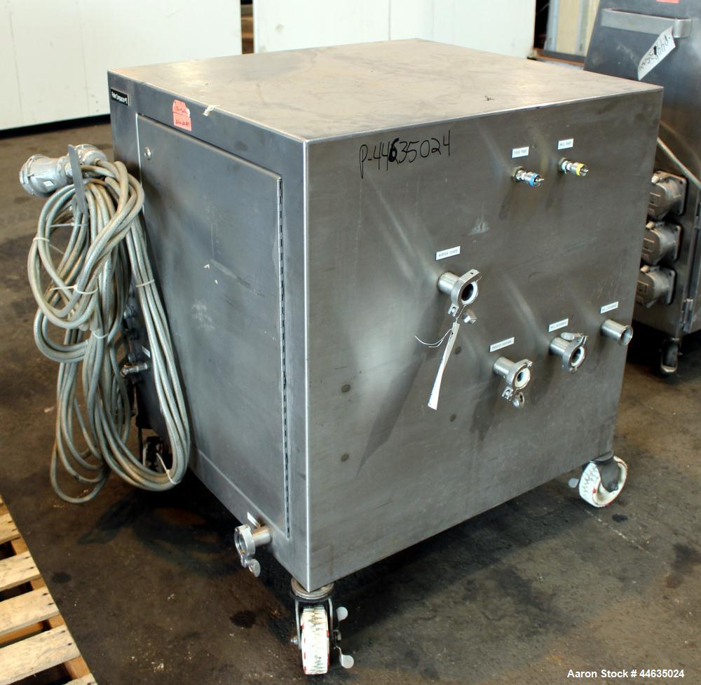 Used- Stainless Steel Fitzpatrick Chilsonator, Model IR520