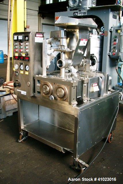 Used- Fitzpatrick Fitzmill Chilsonator, Model L-80.