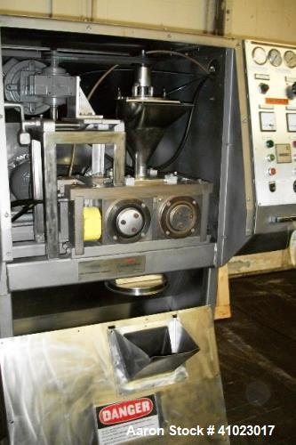 Used- Fitzpatrick Fitzmill Chilsonator, Model L-80.
