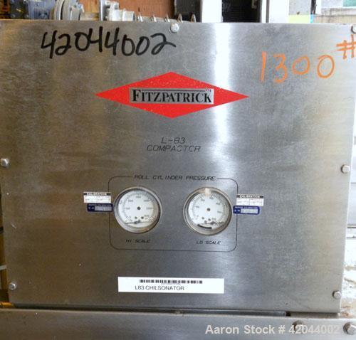 Used- Fitzpatrick L-83 Chilsonator Parts, Model 1.5LX8D