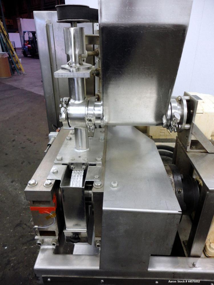 Used- Fitzpatrick Portable Chilsonator, Model L-83. Stainless steel (product contact areas). Approximate capacity 20-120 kg/...