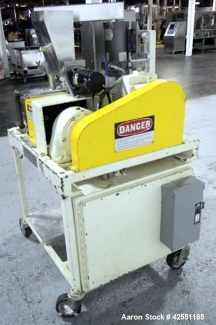 Used- Fitzpatrick Chilsonator roller compactor, model L83